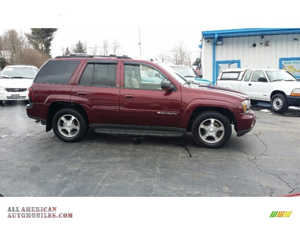 2004 Chevrolet Trailblazer Lt 4x4 In Medium Red Metallic