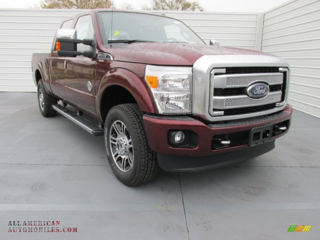 2015 ford f250 super duty platinum crew cab 4x4 in bronze fire c70451 all american. Black Bedroom Furniture Sets. Home Design Ideas