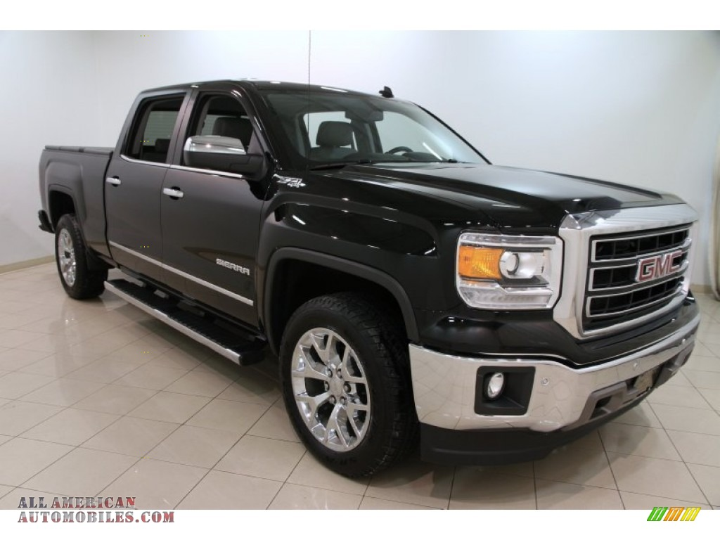 2014 gmc sierra 1500 slt crew cab 4x4 in onyx black photo 11 121391 all american. Black Bedroom Furniture Sets. Home Design Ideas