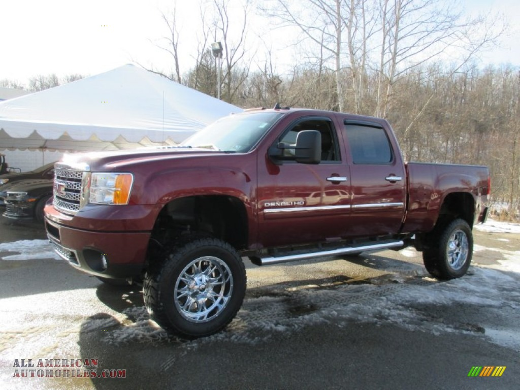2013 gmc sierra 2500hd denali crew cab 4x4 in sonoma red metallic photo 15 144287 all. Black Bedroom Furniture Sets. Home Design Ideas