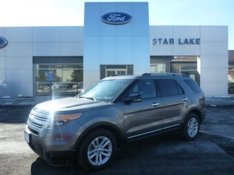 Sterling Gray Metallic 2013 Ford Explorer XLT 4WD