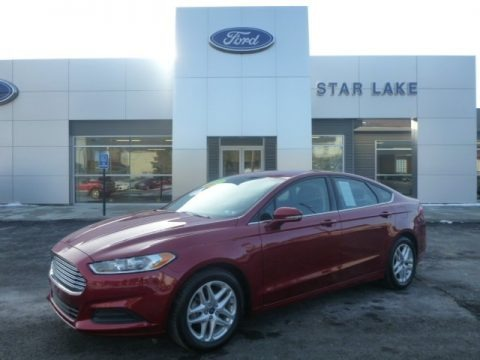 Ruby Red Metallic 2013 Ford Fusion SE