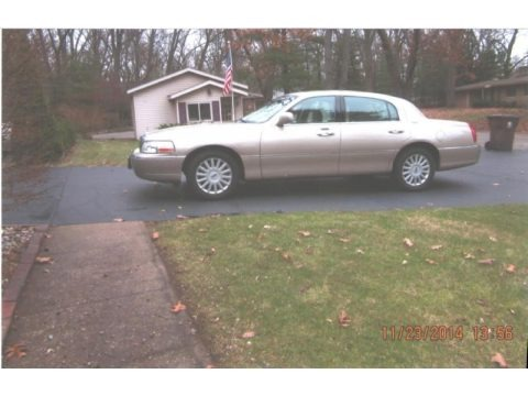 Light French Silk Metallic 2006 Lincoln Town Car Signature Limited