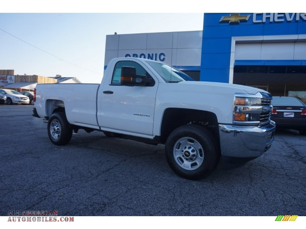 2015 chevrolet silverado 2500hd wt regular cab in summit white 516920 all american. Black Bedroom Furniture Sets. Home Design Ideas