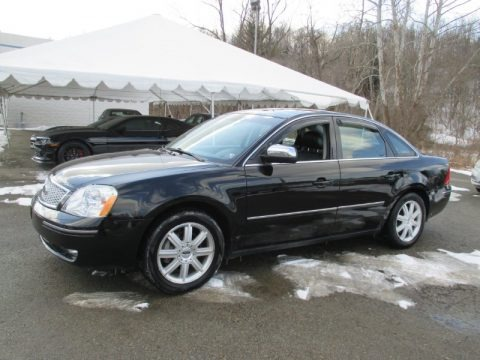 Black 2005 Ford Five Hundred Limited AWD