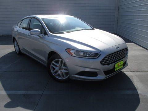 Ingot Silver 2014 Ford Fusion SE