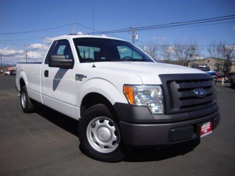 Oxford White 2010 Ford F150 XL Regular Cab