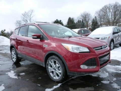 Ruby Red Metallic 2015 Ford Escape Titanium 4WD