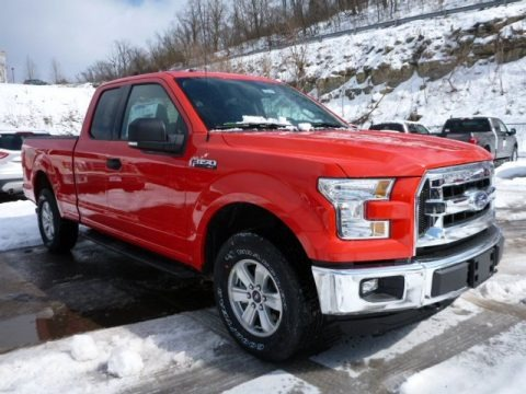 Race Red 2015 Ford F150 XLT SuperCab 4x4