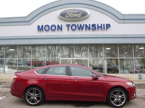 Ruby Red 2014 Ford Fusion Titanium