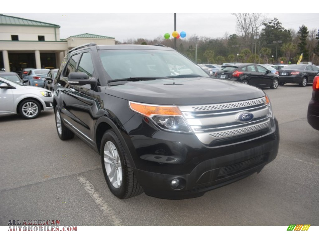 2014 ford explorer xlt in tuxedo black b55282 all american automobiles buy american cars. Black Bedroom Furniture Sets. Home Design Ideas