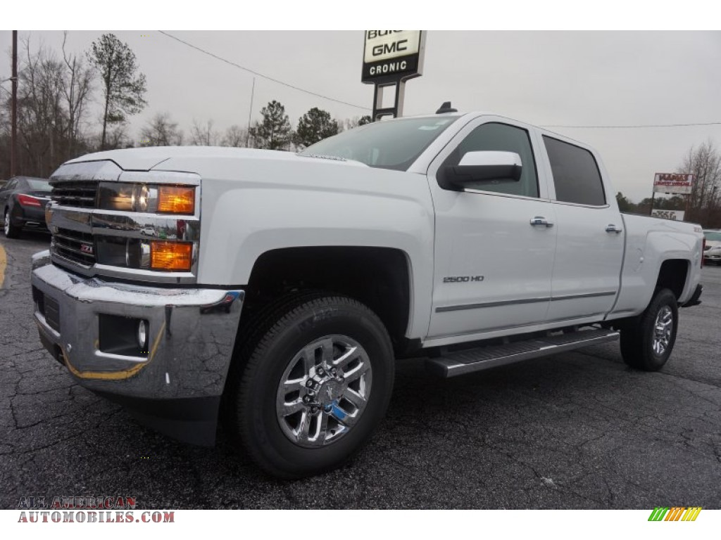 2015 chevrolet silverado 2500hd ltz crew cab 4x4 in summit white photo 3 503375 all. Black Bedroom Furniture Sets. Home Design Ideas