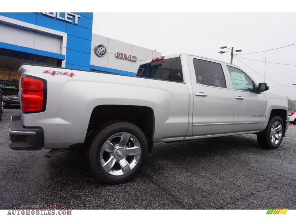 2015 chevrolet silverado 1500 ltz crew cab 4x4 in silver ice metallic photo 7 199924 all. Black Bedroom Furniture Sets. Home Design Ideas