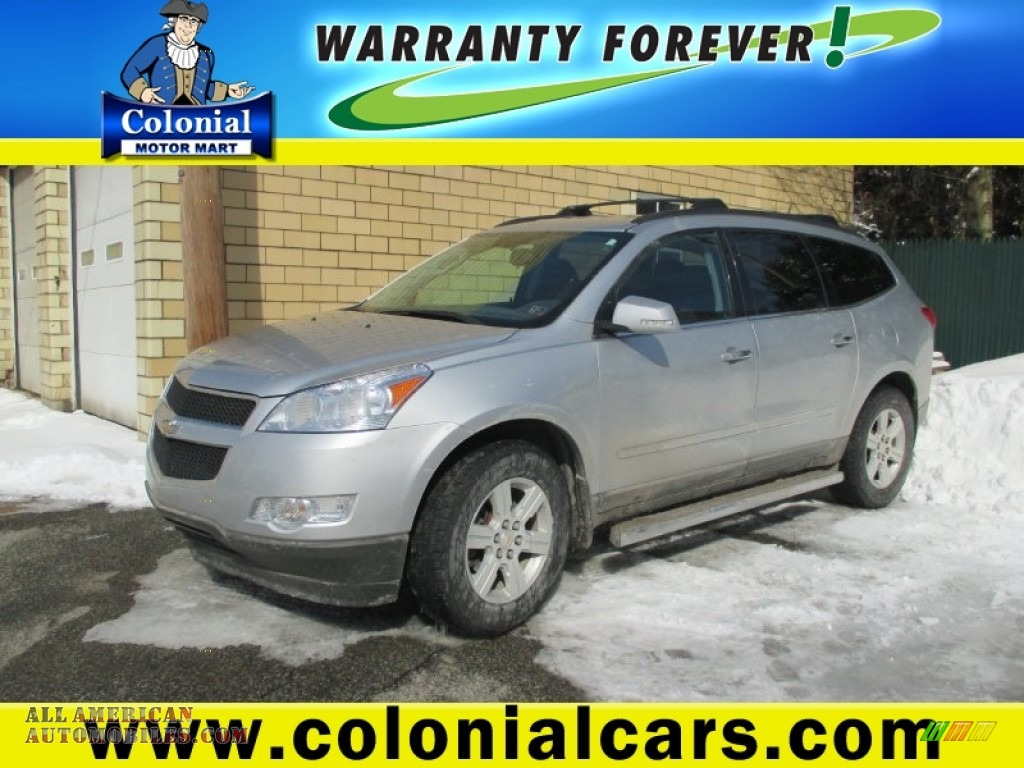 2011 chevrolet traverse lt awd in silver ice metallic for Colonial motors indiana pa
