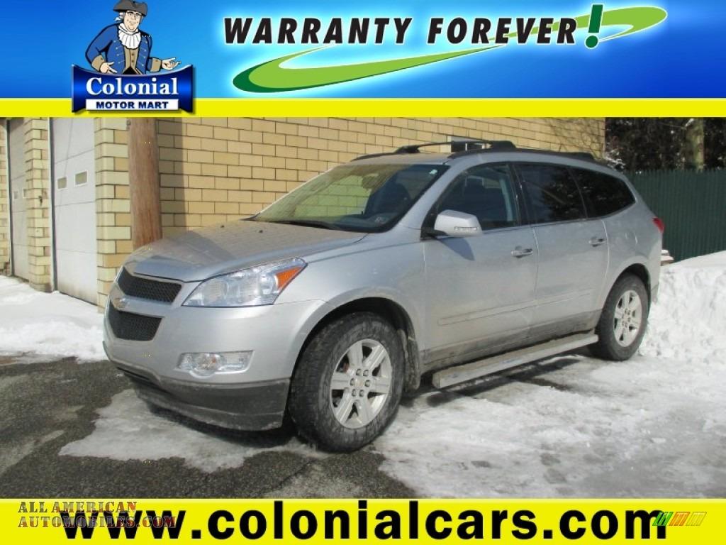 2011 Chevrolet Traverse Lt Awd In Silver Ice Metallic