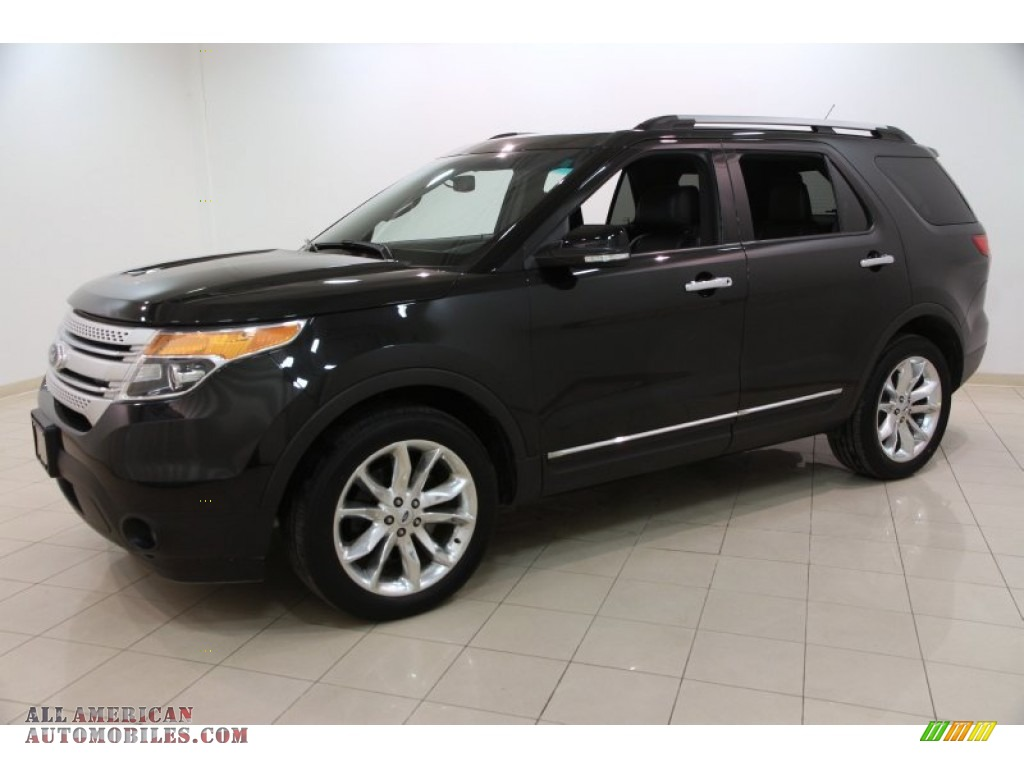 2013 ford explorer xlt 4wd in tuxedo black metallic photo 3 b87894 all american automobiles. Black Bedroom Furniture Sets. Home Design Ideas