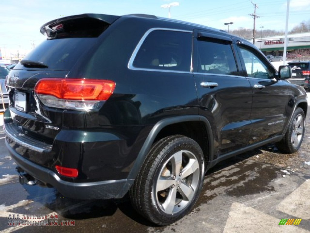 2014 jeep grand cherokee limited 4x4 in black forest green for Steve white motors inc