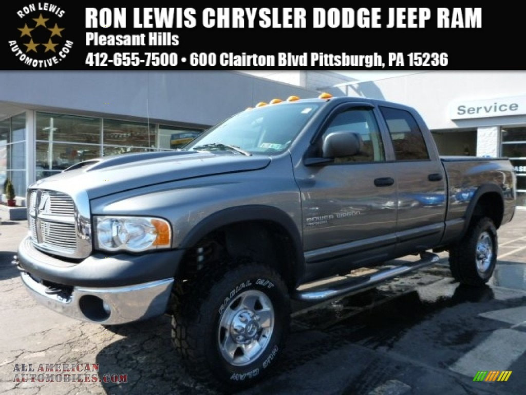 2005 dodge ram 2500 power wagon quad cab 4x4 in mineral gray metallic photo 14 900890 all. Black Bedroom Furniture Sets. Home Design Ideas