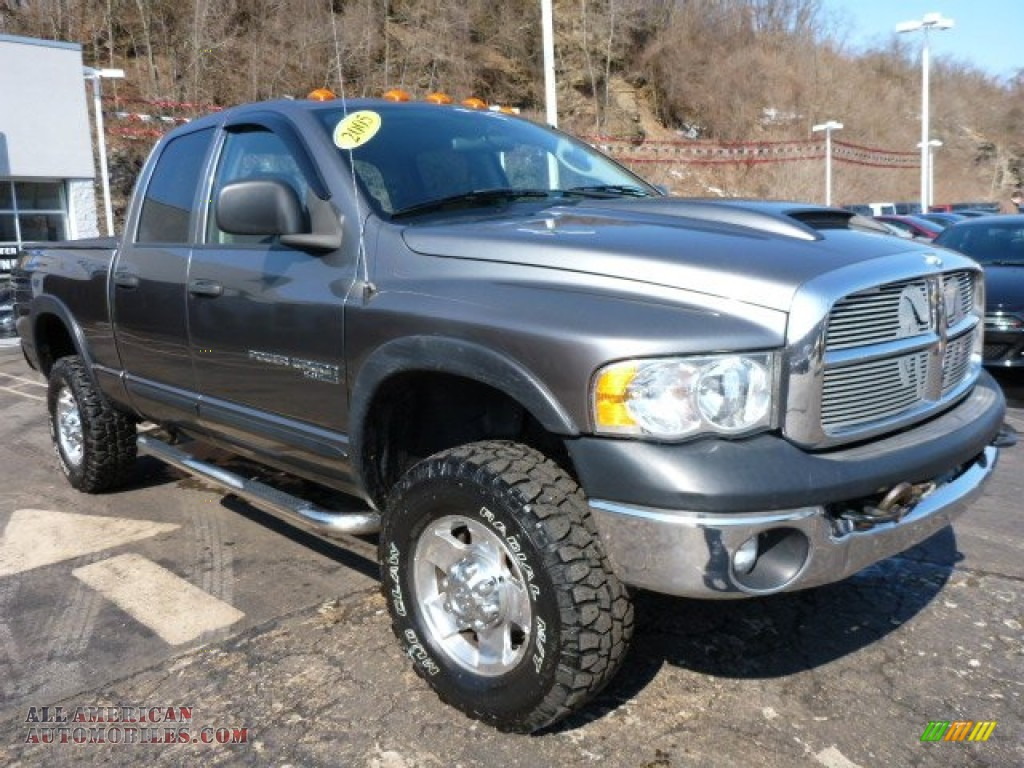 2005 dodge ram 2500 power wagon quad cab 4x4 in mineral gray metallic photo 8 900890 all. Black Bedroom Furniture Sets. Home Design Ideas