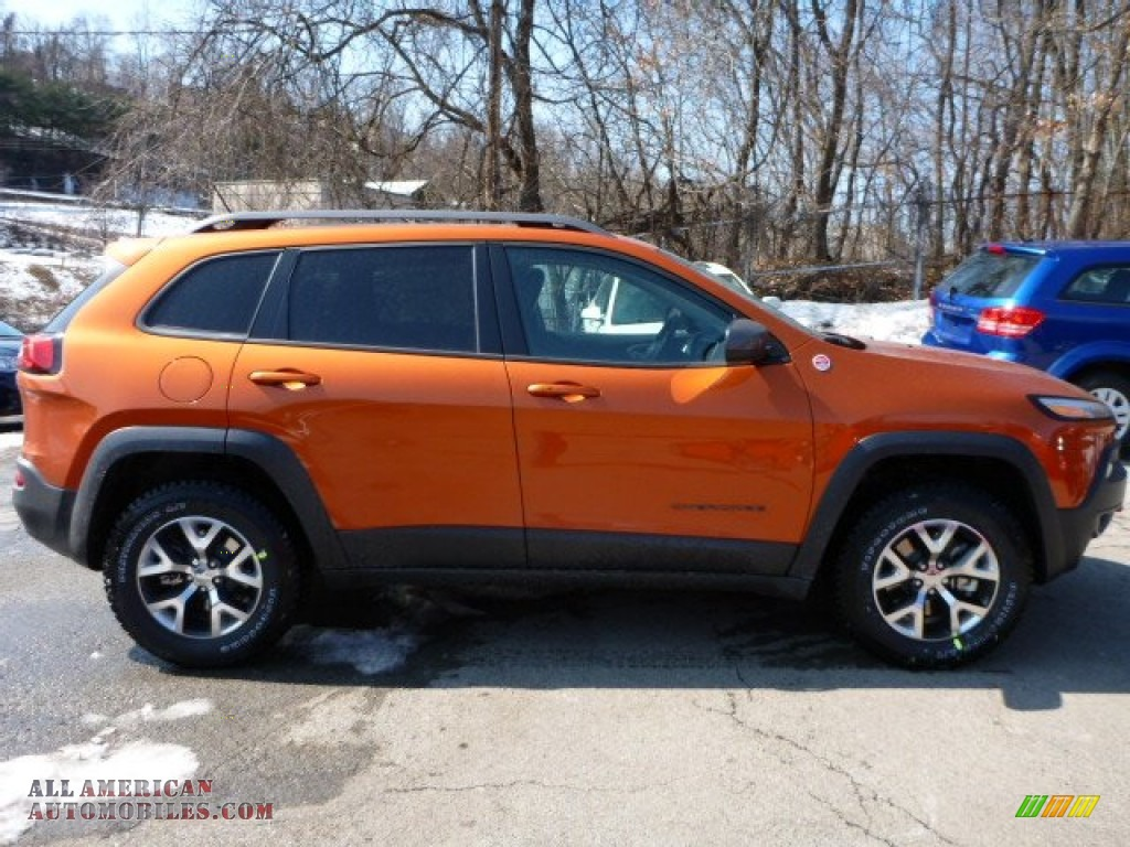 2015 jeep cherokee trailhawk 4x4 in mango tango pearl photo 6 648716 all american. Black Bedroom Furniture Sets. Home Design Ideas