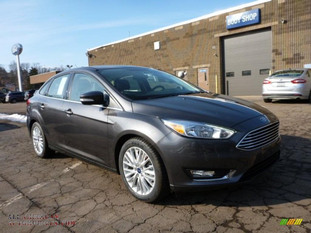 2015 Ford Focus Titanium Sedan In Magnetic Metallic