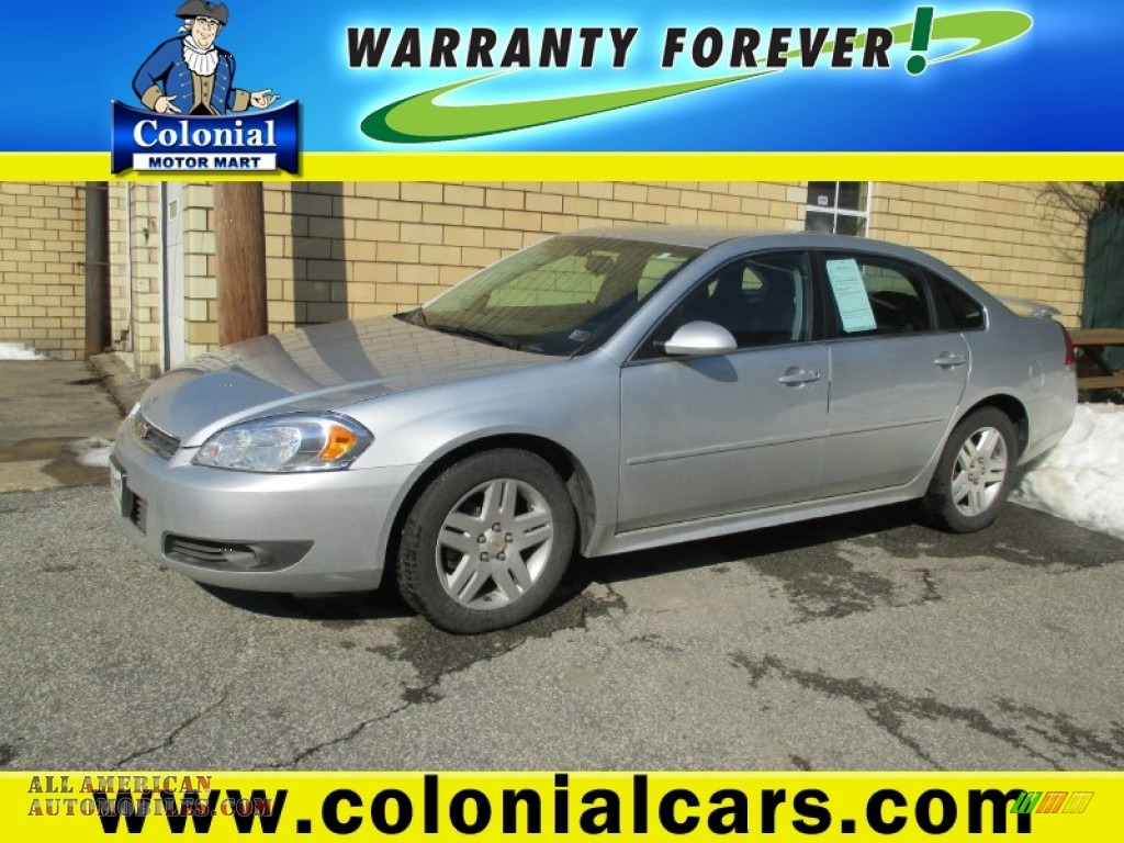 2010 chevrolet impala lt in silver ice metallic photo 3 for Colonial motors indiana pa