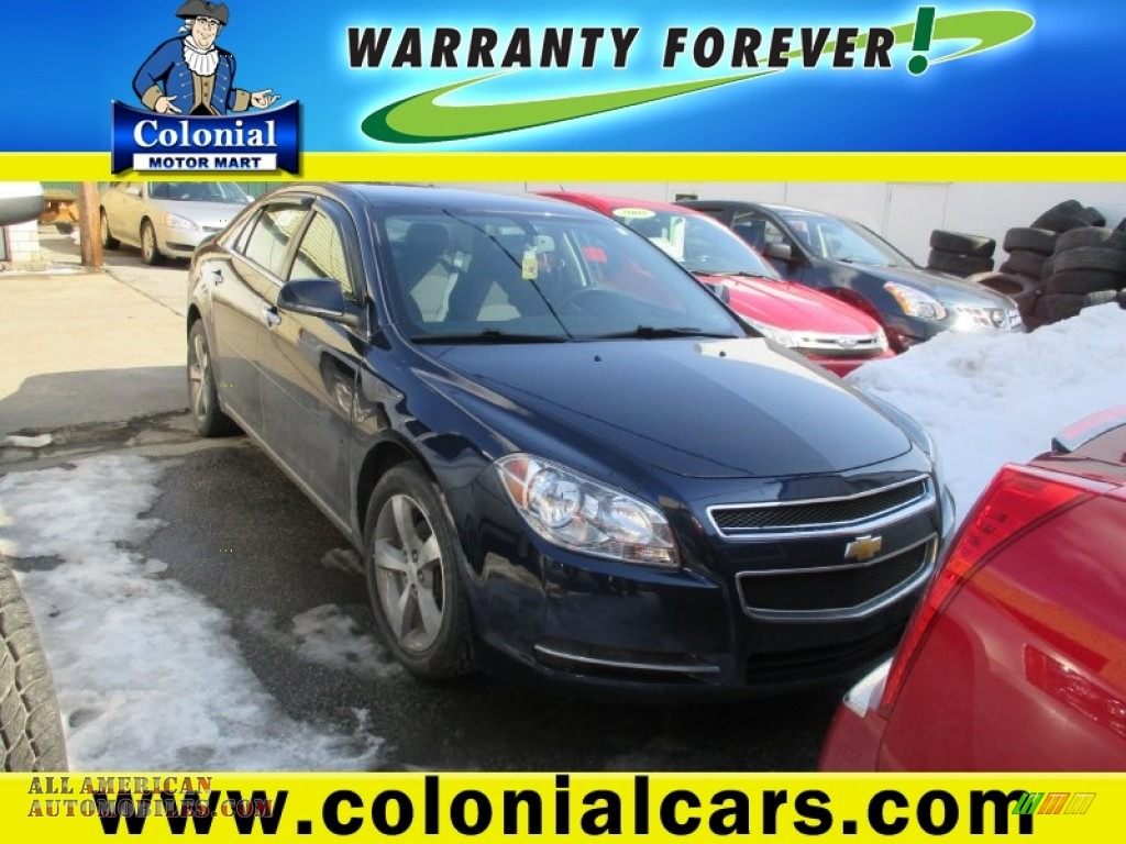2012 Chevrolet Malibu Lt In Imperial Blue Metallic Photo