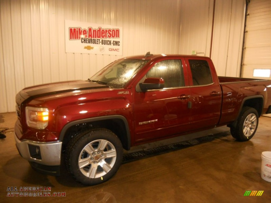 2015 GMC Sierra 1500 SLE Double Cab 4x4 in Sonoma Red ...