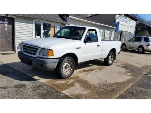 Oxford White 2003 Ford Ranger XLT Regular Cab