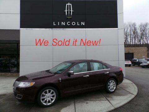 Bordeaux Reserve Metallic 2012 Lincoln MKZ FWD