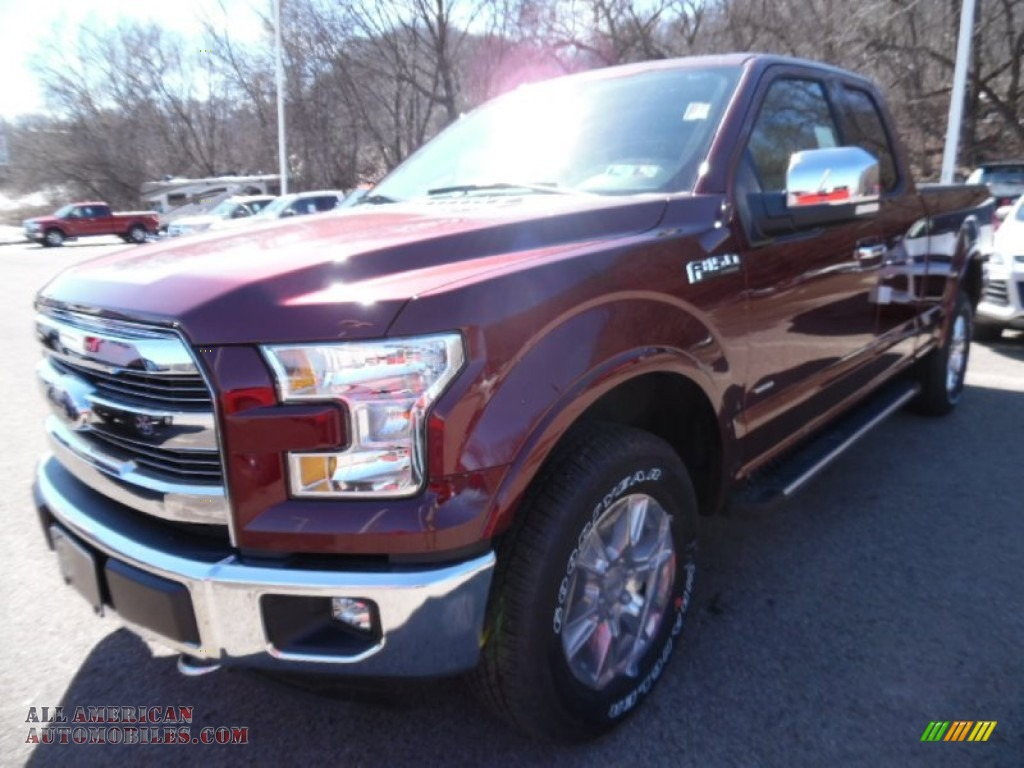 2015 ford f150 xlt supercab 4x4 in bronze fire metallic photo 4 a69054 all american. Black Bedroom Furniture Sets. Home Design Ideas