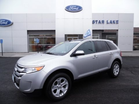 Ingot Silver Metallic 2012 Ford Edge SEL AWD