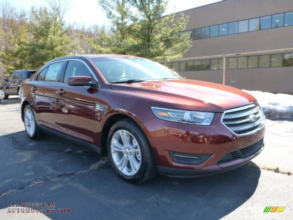 2015 ford taurus sel awd in bronze fire metallic 148222 all american automobiles buy. Black Bedroom Furniture Sets. Home Design Ideas