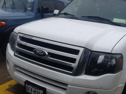 White Platinum Tri-Coat 2012 Ford Expedition EL Limited