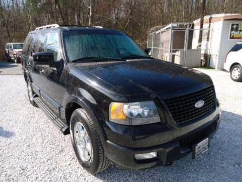 Black 2006 Ford Expedition Limited 4x4