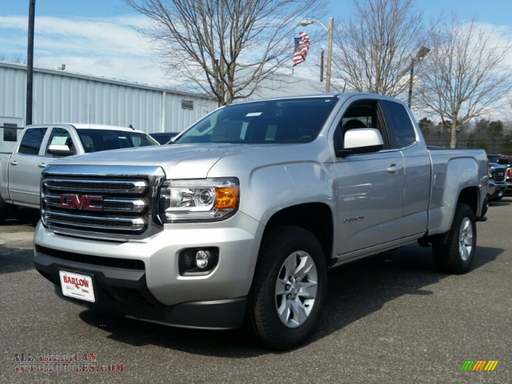 2015 gmc canyon sle extended cab 4x4 in quicksilver metallic 145397 all american automobiles. Black Bedroom Furniture Sets. Home Design Ideas