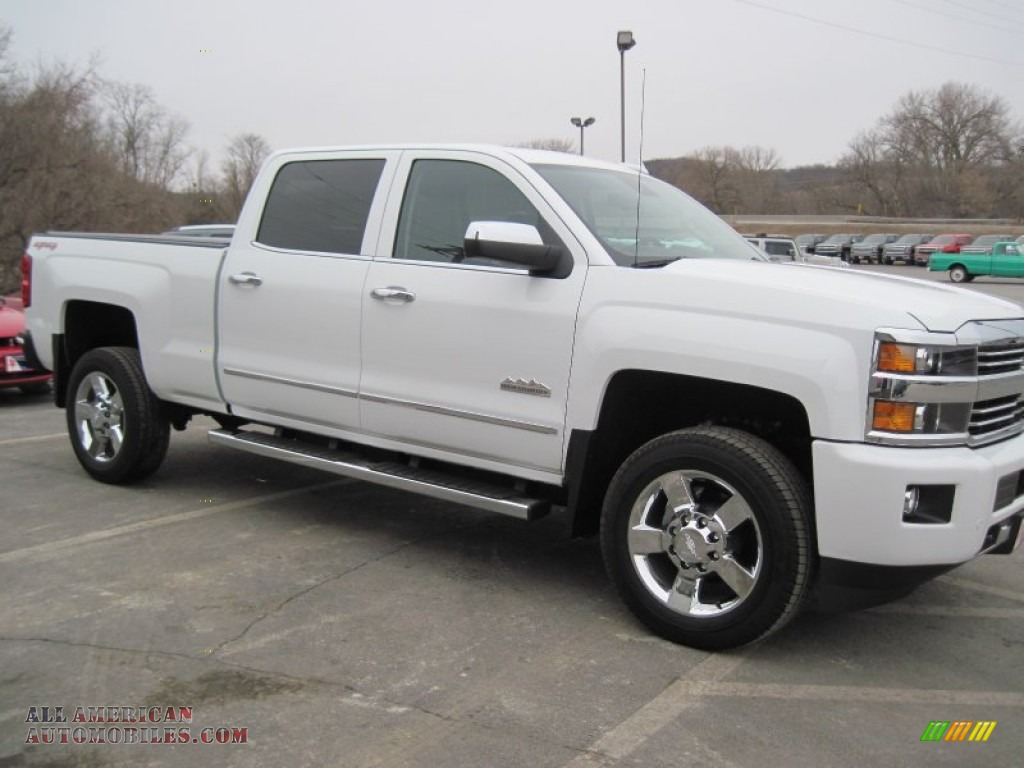 2015 chevrolet silverado 2500hd high country crew cab 4x4 in summit white photo 3 578386. Black Bedroom Furniture Sets. Home Design Ideas