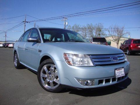 Light Ice Blue Metallic 2009 Ford Taurus Limited