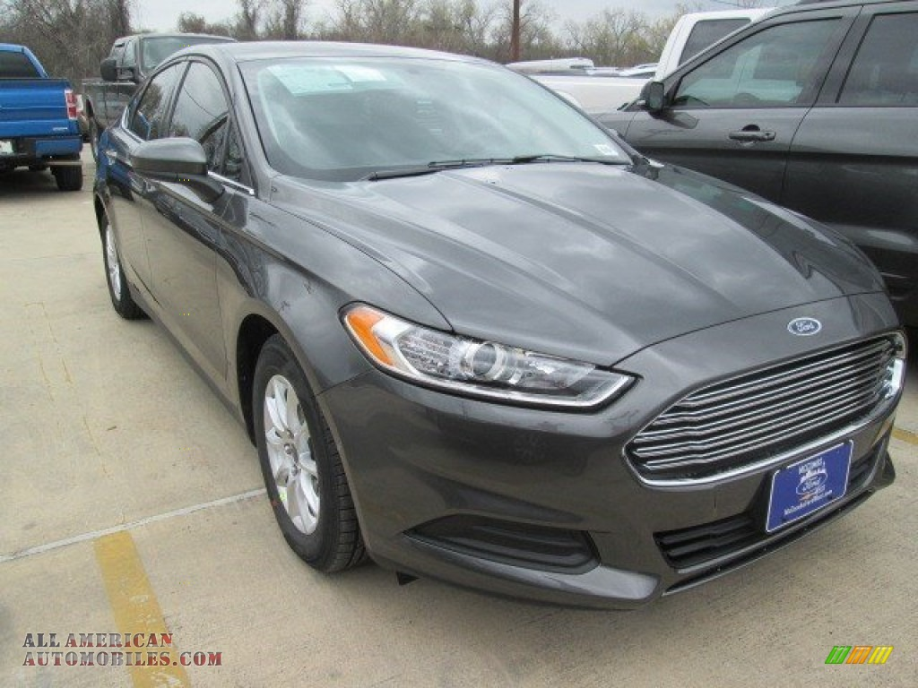 2015 Ford Fusion S In Magnetic Metallic 278716 All