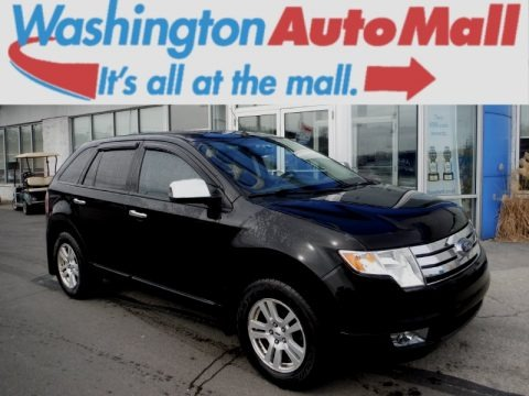 Black 2008 Ford Edge SEL AWD