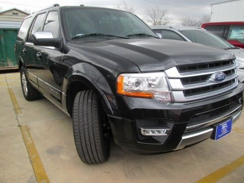 Tuxedo Black Metallic 2015 Ford Expedition Platinum