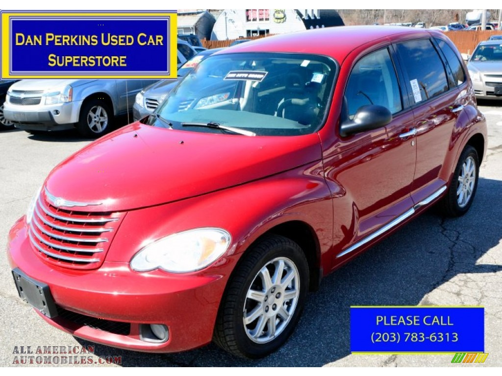 2010 chrysler pt cruiser classic in inferno red crystal pearl 131780 all american. Black Bedroom Furniture Sets. Home Design Ideas