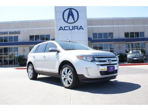 Ingot Silver Metallic 2013 Ford Edge Limited