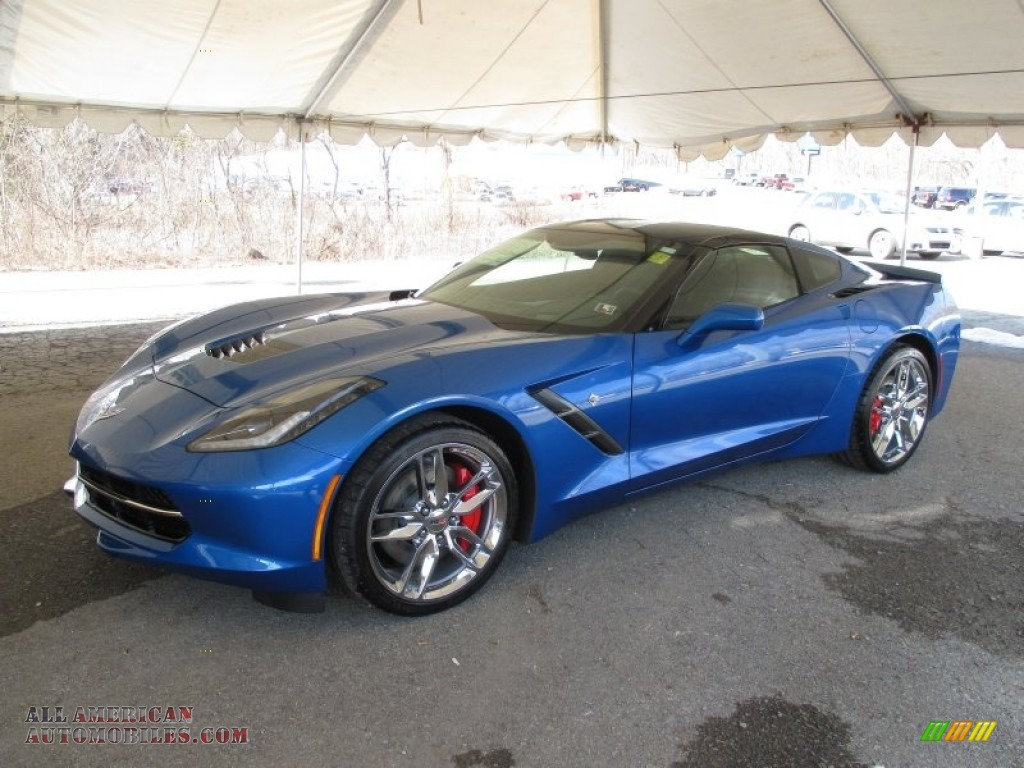 2015 chevrolet corvette stingray coupe z51 in laguna blue. Black Bedroom Furniture Sets. Home Design Ideas