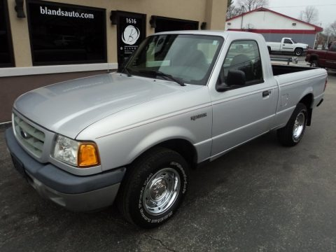 Silver Frost Metallic 2003 Ford Ranger XL Regular Cab