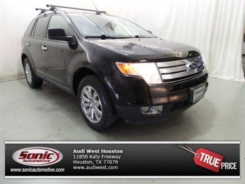 Black 2007 Ford Edge SEL Plus