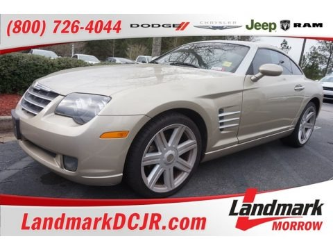 Oyster Gold Metallic 2008 Chrysler Crossfire Limited Coupe