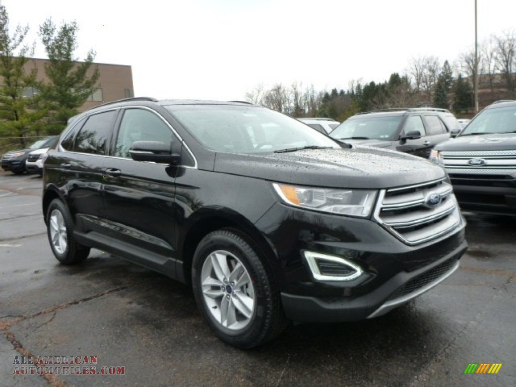 Ford Fiesta Roof Rack >> 2015 Ford Edge SEL AWD in Tuxedo Black Metallic - B02718 | All American Automobiles - Buy ...