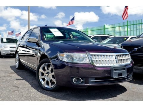 Amethyst Metallic 2007 Lincoln MKZ AWD Sedan