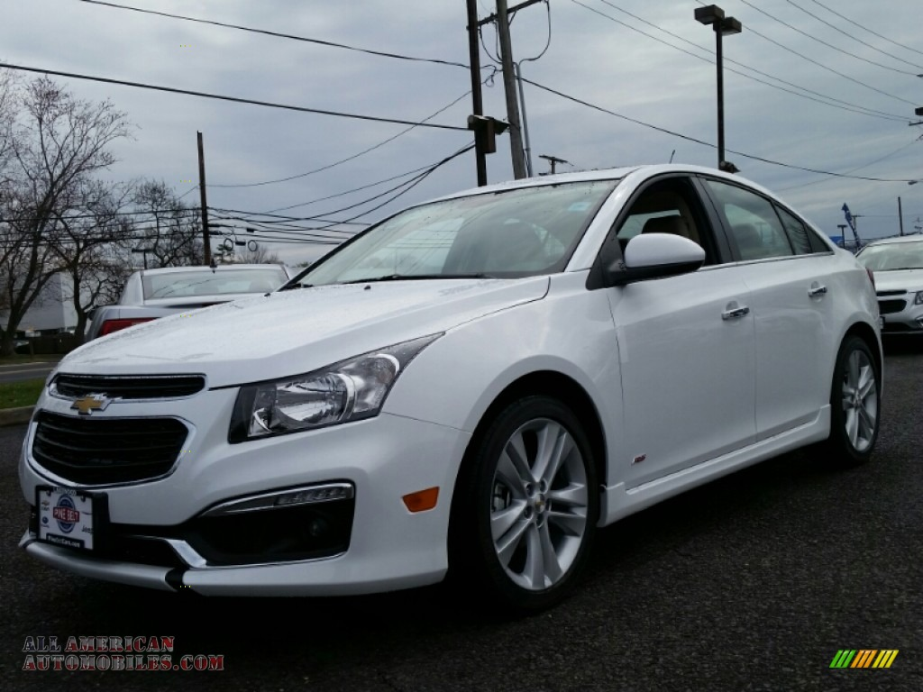 2015 Chevrolet Cruze Ltz In Summit White 228855 All